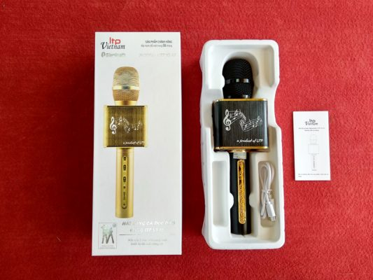 Micro Hát Karaoke Cầm Tay LTP YS-12